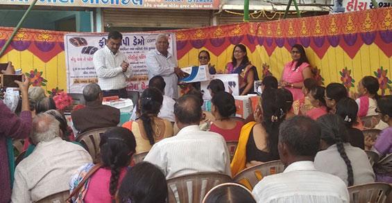 First Anniversary Celebration of Vyara Center Gujarat