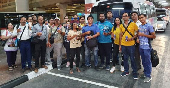 International trip of companio Dealers (Companio West Zone Gujarat)